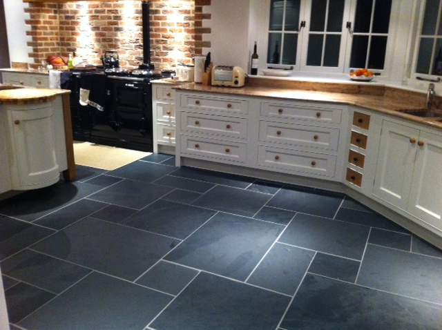 Extra Large Riven Slate Flooring 900 Mm